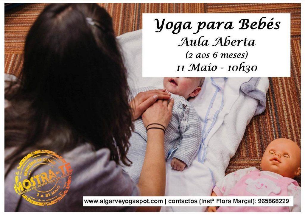 Yoga para Bebés - Aula Aberta