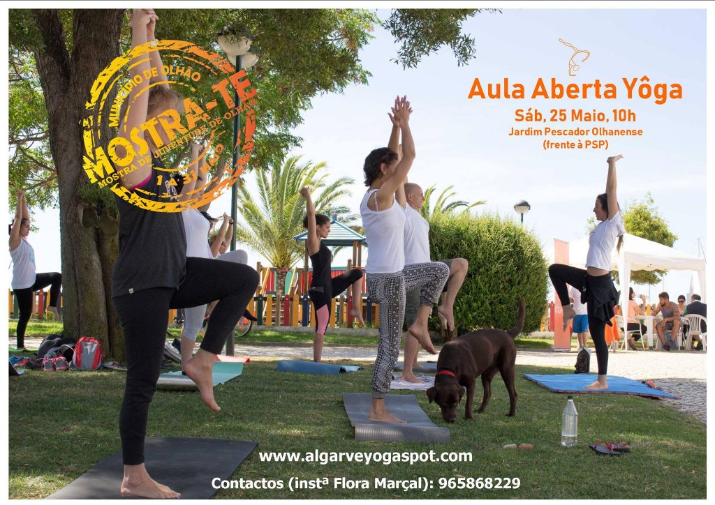 Yoga no Jardim - Aula Aberta
