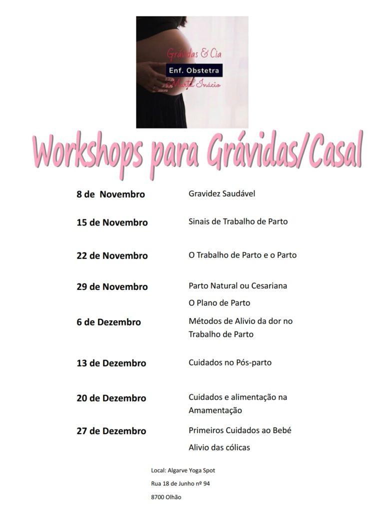 Workshops para Grávidas/Casal